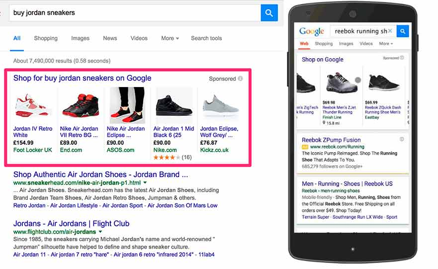 especialista en campañas google shopping